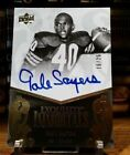 Gale Sayers Upper Deck Exquisite Immortals 25 Chicago Bears Auto Autograph