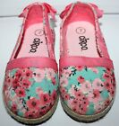 Circo Shoes Baby Toddler Girls size 7 Floral Bow Back Slip On Target