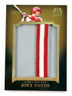 2011 Topps Tier One Prodigious Patches Joey Votto #PP2 Reds # 08 10