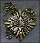 38 Long LIA SOPHIA Rumor Necklace w Large Pendant Possibly Retired New In Box