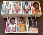 LOT OF (760) 1976-77 TOPPS BASKETBALL ASSORTED COMMON CARDS EX - NR-MINT