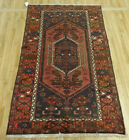 4'X7' Excellent Authentic Persian Geometric Tribal Birds Oriental Iranian rug