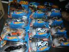 2014 Hot Wheels STAR WARS CASE 12 Cars CGW35 999B YODA TUSKEN RAIDER R2D2 +