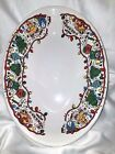 VTG FIESTA FIESTAWARE OVAL HOLIDAY CHRISTMAS SERVING BOWL USA