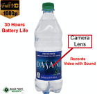 1080P Full HD Hidden Water Bottle Spy Camera DVR DV 20 Hours Battery Audio