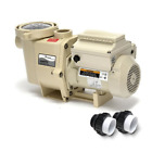 Pentair 011018 Intelliflo Variable Speed Pump with Two Easy Install Unions