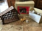 Vintage Christmas Around The World House Of Lloyd Deluxe Nativity Set With Box