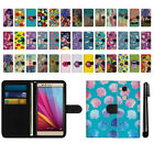 For Huawei Honor 5X Sensa 4G H710VL H715BL Canvas Wallet Pouch Case Cover + Pen