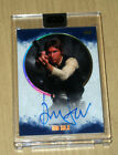 2017 Topps Star Wars Stellar Signatures BLUE autograph Harrison Ford HAN 24 25