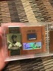 Ernie Banks 2004 Playoff Prime Cuts MLB Icons Cubs 2 Color Patch Auto 30 50