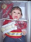 ASHTON DRAKE   BONNIE CHYLE EUROPEAN DOLL MARC, THE LITTLE FIREFIGHTER NIB COA