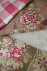 Antique Vintage French fabric materials cloth sewing quilting Project Bundle