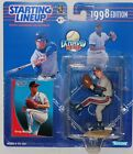 1998 SLU Starting Lineup Greg Maddux Extended Figure MOC Atlanta Braves Kenner