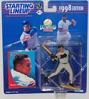 1998 SLU Starting Lineup Moises Alou Extended Figure MOC Houston Astros Kenner