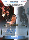 TNA Abyss 2012 Reflexxions GOLD Authentic Autograph Card SN 1 of 50