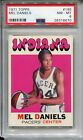 1971 Topps #195 Mel Daniels Rookie PSA 8 NM-MT Indiana Pacers