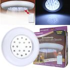 Wireless 18 LED Ceiling Wall Stairs Closet Light With Remote Control Switch Lamp