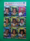 AMERICAN IDOL TRADING CARDS Fleer Sheet New York Daily News Fantasia Barrino