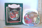 WAITING FOR SANTA~2ND IN COLLECTOR'S PLATES SERIES~1988 HALLMARK ORNAMENT
