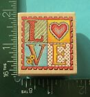 All Night Media LOVE STAMP Rubber Stamp Saying