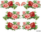 STuNninG KLeiN PinK  ReD RoSe SWaGs SHaBbY WaTerSLiDe DeCALs LARGE