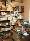 HUGE LOT AROUND 2000 SPORTS CARDS ALL SPORTS +WAX PACKS SLEEVED CARDS 1950S UP