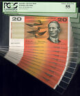 R-401. (1966) 20 Dollars - Coombs Wilson. CONSEC Run of 10 in PCGS Holders. UNC