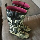 Womens Copelli Knee High Rain Boots Wellies Size 6 Cityscape London