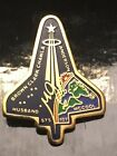 STS 107 SPACE SHUTTLE COLUMBIA VINTAGE CREW LAPEL PIN DISASTER