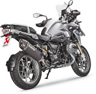Akrapovic Slip-On CF Ti Muffler / Black - BMW 13-17 R1200GS