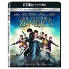 Pride + and Prejudice + and Zombies 4K ULTRA HD UHD Blu ray 2 DISC NEW
