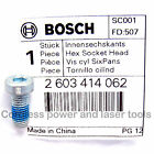 Bosch PEX 420 AE SINGLE SCREW TYPE Sander Pad Clamping Screw Bolt 2 603 414 062