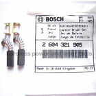 Bosch Carbon Brushes for PEX 125 A Sander Genuine Original Part 2 604 321 905