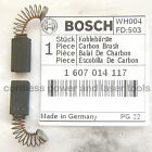 Bosch Carbon Brushes for 3725 DVS Sander Genuine Original Part 1 607 014 117
