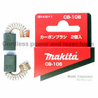 Makita 1125 1911B Planer CB106 Carbon Brushes Genuine Original Part 181410-1
