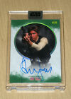 2017 Topps Star Wars Stellar Signatures GREEN autograph Harrison Ford HAN 18 20