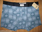 NEW Lucky Brand UNDERWEAR BOXER BRIEFS MENS S Blue King Ace of Spades $21 Retail