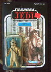1983 STAR WARS CARDED LOGRAY EWOK ACTION FIGURE MOC RETURN OF THE JEDI 77 BACK