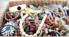 15 + POUNDS JEWELRY WATCH BEAD ECT. PARTS PIECES WEAR REPAIR AS IS BULK LOT NR