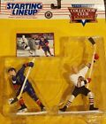 STARTING LINE UP 1996 HOCKEY COLLECTOR CLUB DOUBLE CARDED FIGURE ( THE HULLS )