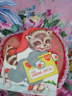 VALENTINELARGEEASEL BACKRACOONFOR SOMEONE SPECIALVINTAGE