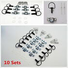 10 Sets 17mm Motorcycle KTM Quick Release 1/4 Turn Race Fairing Fasteners Rivet