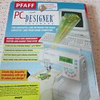 Pfaff 7560 7570 PC Designer Software Complete, 2.2 Version Cable HTF Fits Others
