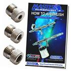 brand airbrush fitting conversion adapters for paasche badger