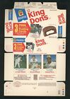 1975 Hostess King Dons ROBIN YOUNT rookie RC complete panel MINT uncut box B2
