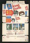 1975 Hostess King Dons ROBIN YOUNT rookie RC complete panel MINT uncut box B4