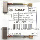 Bosch Carbon Brushes for 1671 36V Cordless Circular Saw Part 2 610 945 334