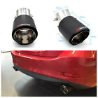 Universal Carbon Fiber Car Tail Modified Exhaust Pipe Angle Adjustable Anti UV