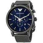 Emporio Armani Sport Chronograph Men's Watch AR1979 Stainless New In Box