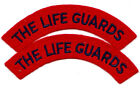 The Life Guards Pair of Shoulder Titles Nice